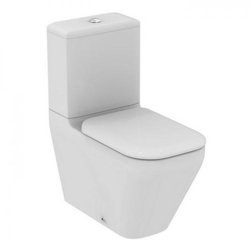 Tonic Ii Close Coupled, Back-to-wall Wc & Seat Cover